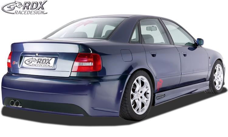 "RDX Heckstoßstange Audi A4 B5 Limousine ""SingleFrame"" Heckschürze Heck"