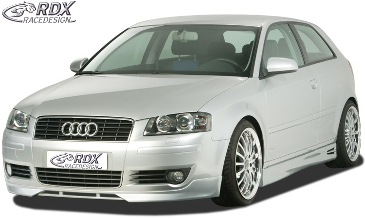 RDX Frontspoiler Audi A3 8P (bis 2006) Frontlippe Front Ansatz Spoilerlippe