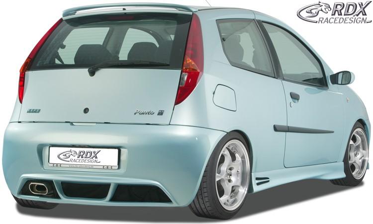 """RDX Heckstoßstange für FIAT Punto 3 bzw. Punto 2 Facelift """"Turbo"""" Heckschürze Heck"""