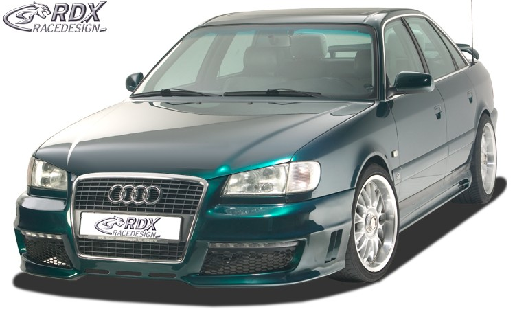 """RDX Motorhaubenverlängerung Audi A6 C4 """"SingleFrame"""" Böser Blick"""
