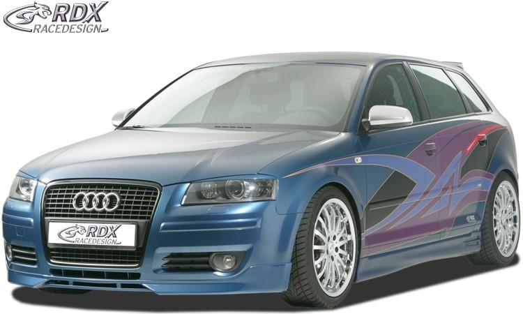 RDX Frontspoiler für AUDI A3 8P Sportback Frontlippe Front Ansatz Spoilerlippe