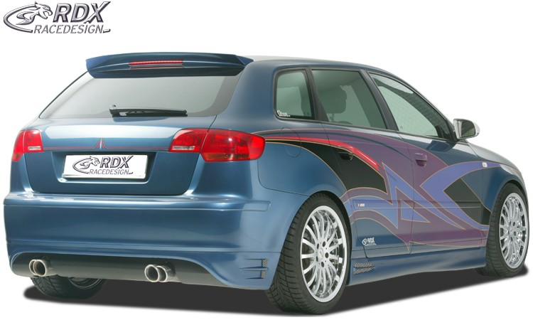 RDX Heckansatz für AUDI A3 8P Sportback Heckschürze Heck