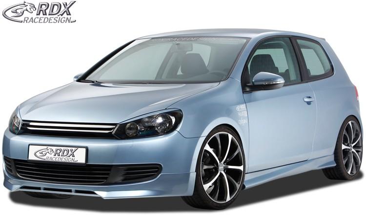 RDX Frontspoiler VW Golf 6 Frontlippe Front Ansatz Spoilerlippe