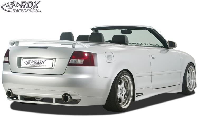 RDX Heckansatz Audi A4 8H Cabrio Heckschürze Heck
