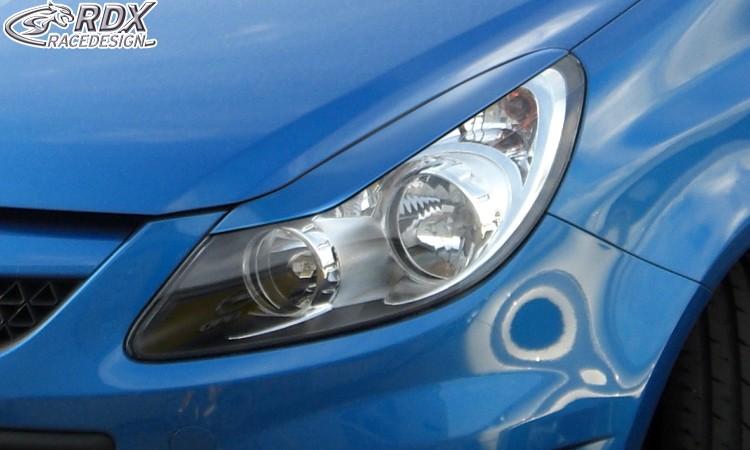 RDX Scheinwerferblenden Opel Corsa D Böser Blick