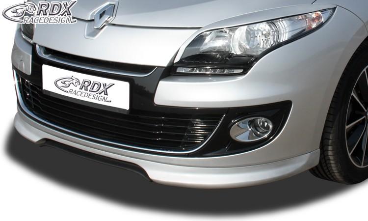 RDX Frontspoiler RENAULT Megane 3 Limousine / Grandtour (2012+) Frontlippe Front Ansatz Spoilerlippe