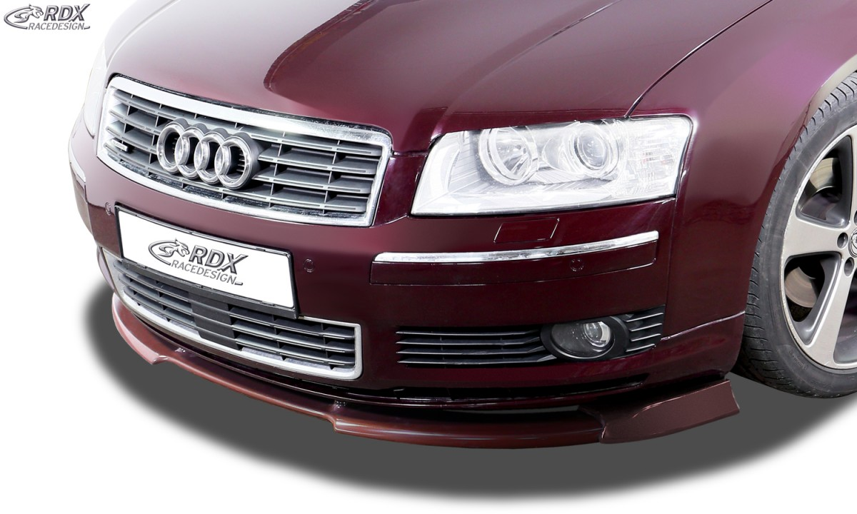 RDX Frontspoiler VARIO-X für AUDI A8 D3 / 4E -2005 (Alle, incl. W12 bzw. S8) Frontlippe Front Ansatz Vorne Spoilerlippe