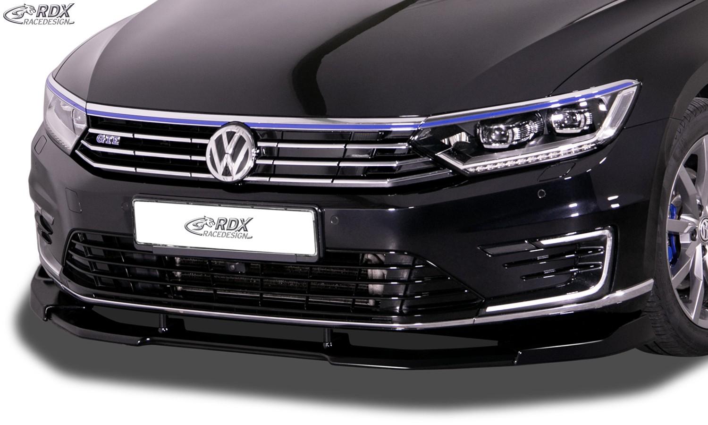 RDX Frontspoiler VARIO-X für VW Passat 3G B8 GTE (-2019) Frontlippe Front Ansatz Vorne Spoilerlippe