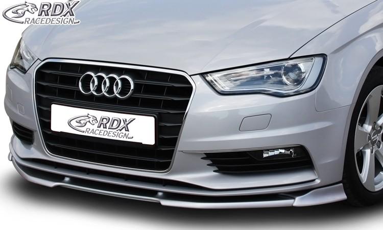 RDX Frontspoiler VARIO-X AUDI A3 8V, 8VA Sportback, 8VS Limousine, 8V7 Cabrio Frontlippe Front Ansatz Vorne Spoilerlippe