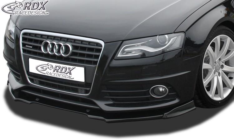 RDX Frontspoiler VARIO-X für AUDI A4 B8/B81 (S-Line- bzw. S4-Frontstoßstange) Frontlippe Front Ansatz Vorne Spoilerlippe