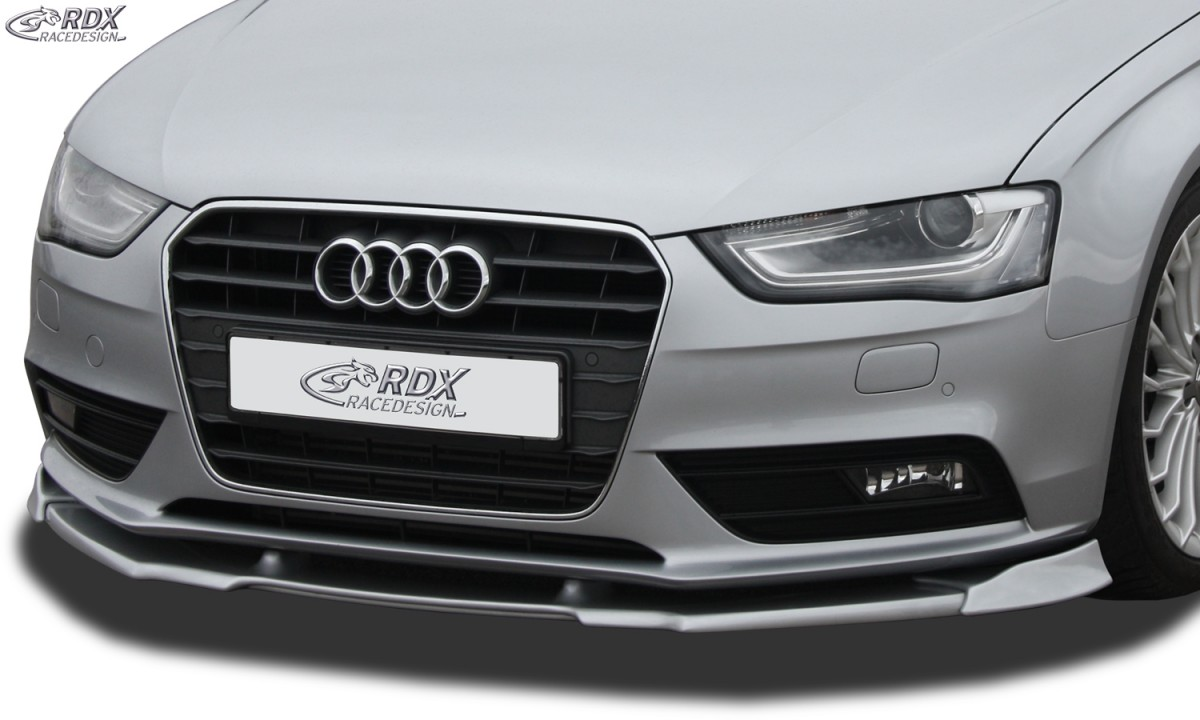 Rdx Front Spoiler For Vario X Audi A4 B8 Facelift 2011 Front Lip