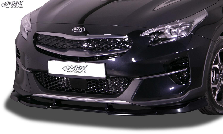 RDX Frontspoiler VARIO-X für KIA XCeed (CD) 2019+ Frontlippe Front Ansatz Vorne Spoilerlippe