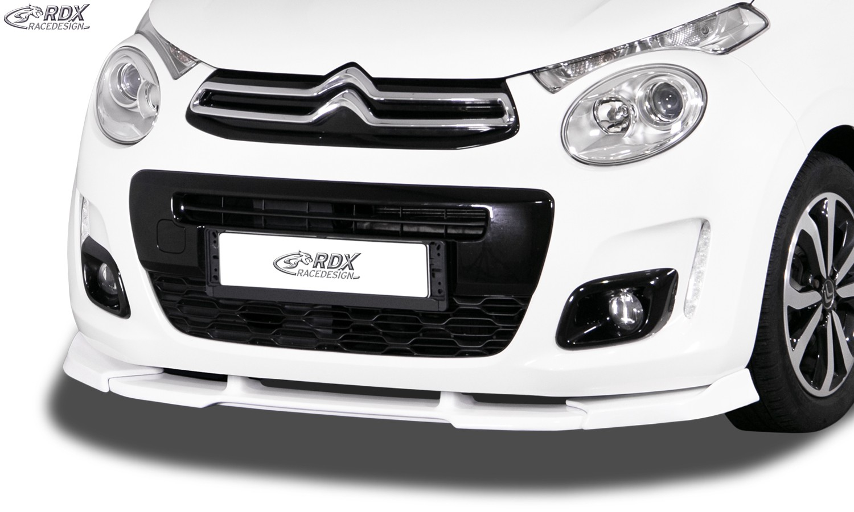 RDX Front Spoiler VARIO-X for CITROEN C1 2014+ Front Lip Splitter