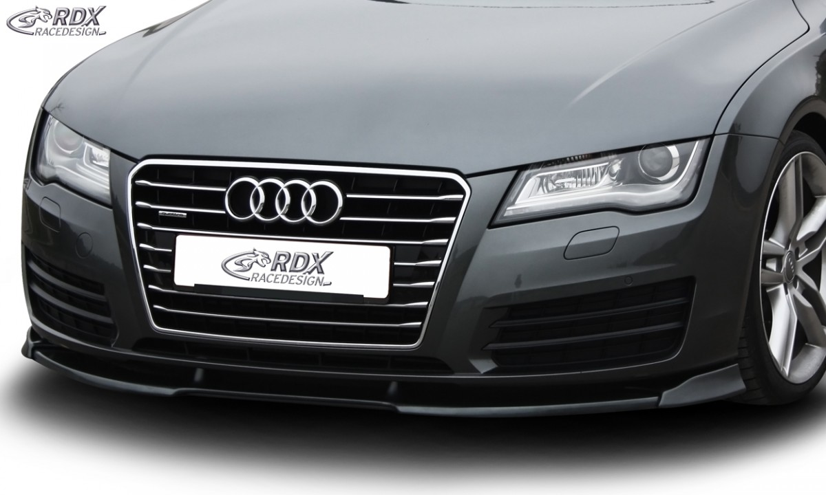 RDX Frontspoiler VARIO-X AUDI A7 2010-2014 Frontlippe Front Ansatz Vorne Spoilerlippe