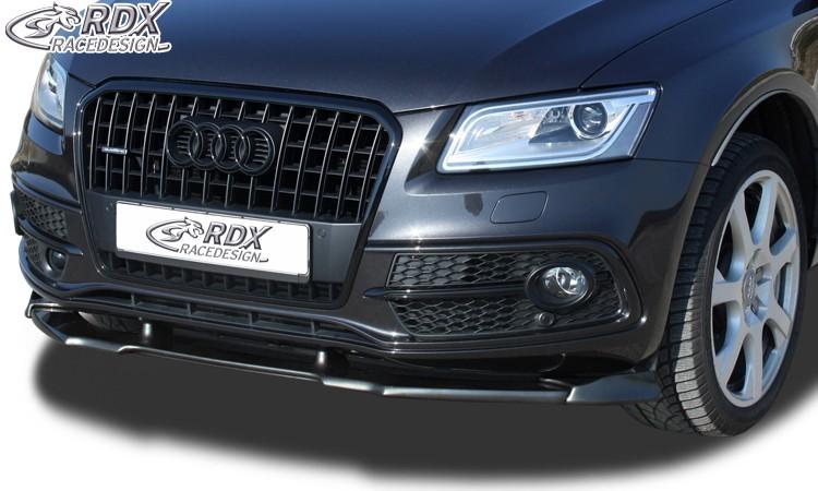 RDX Frontspoiler VARIO-X für AUDI Q5 -2012 & 2012+ (S-Line Frontstoßstange) Frontlippe Front Ansatz Vorne Spoilerlippe