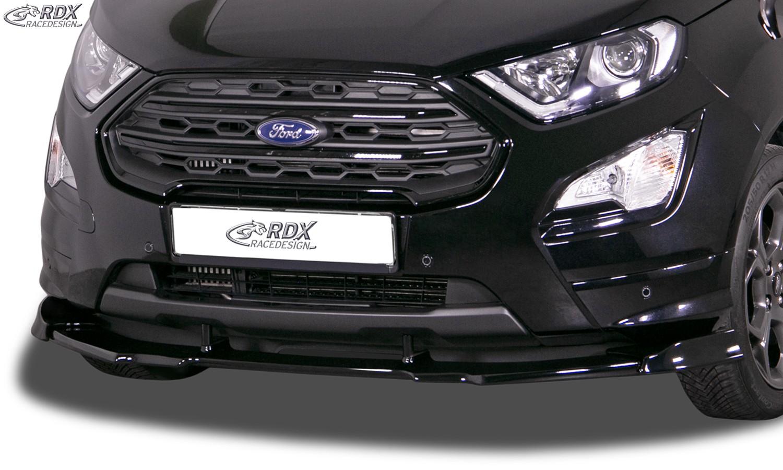 RDX Front Spoiler VARIO-X for FORD EcoSport ST-Line 2017+ Front Lip Splitter