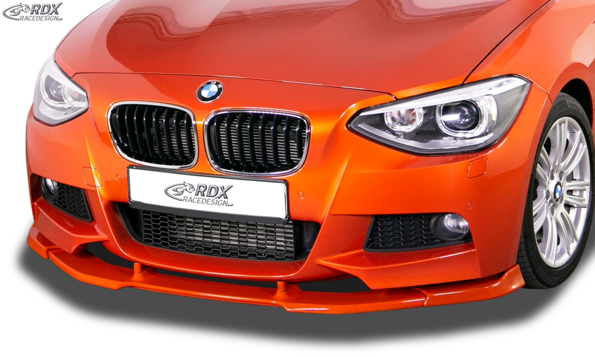 RDX Front Spoiler VARIO-X BMW 1-series F20 / F21 2011-2015 (M-Package and M-Technik Frontbumper) Front Lip Splitter