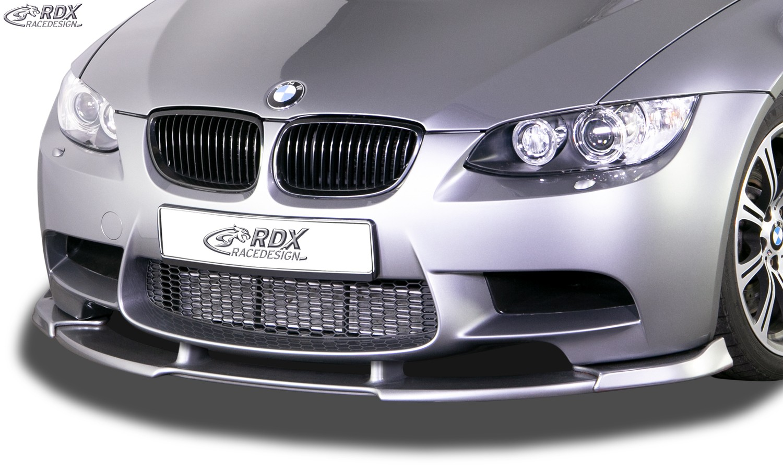 RDX Frontspoiler VARIO-X BMW 3er E92 M3 / E93 M3 Frontlippe Front Ansatz Vorne Spoilerlippe
