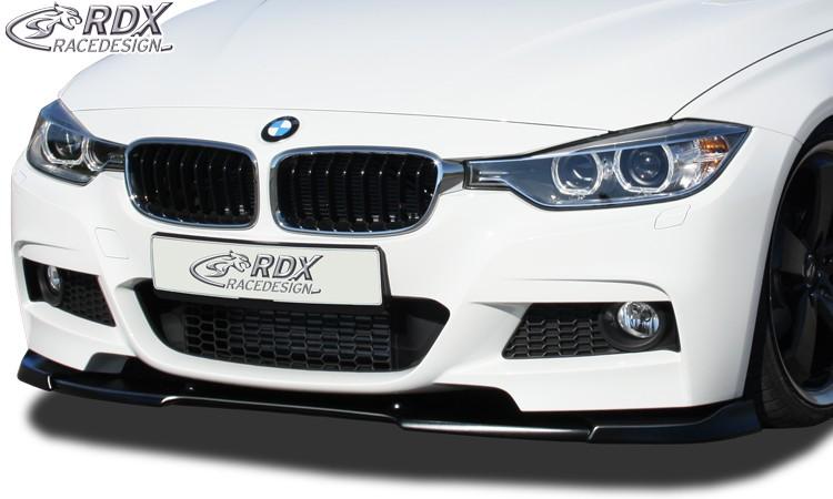 RDX Frontspoiler VARIO-X BMW 3er F30 / F31 2012+ (M-Technik Frontstoßstange) Frontlippe Front Ansatz Vorne Spoilerlippe