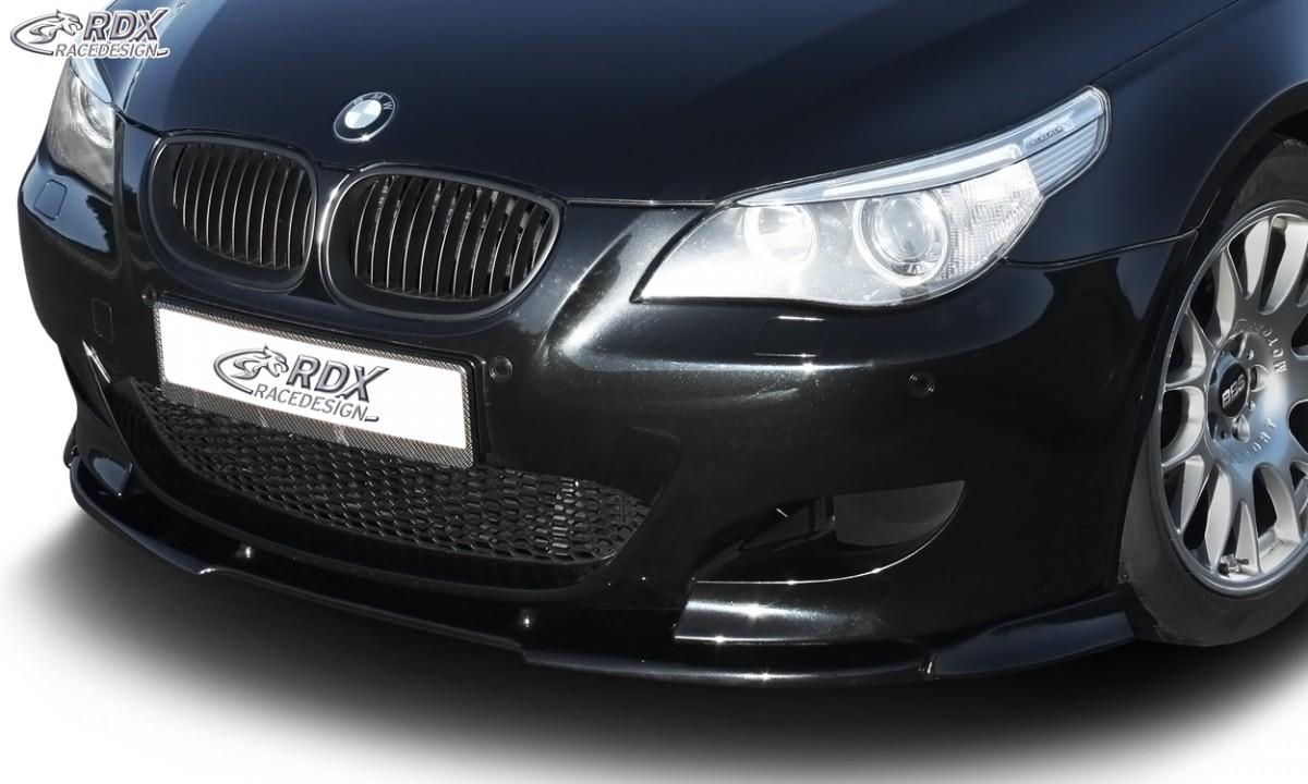 RDX Frontspoiler VARIO-X BMW 5er E60 M5 Frontlippe Front Ansatz Vorne Spoilerlippe