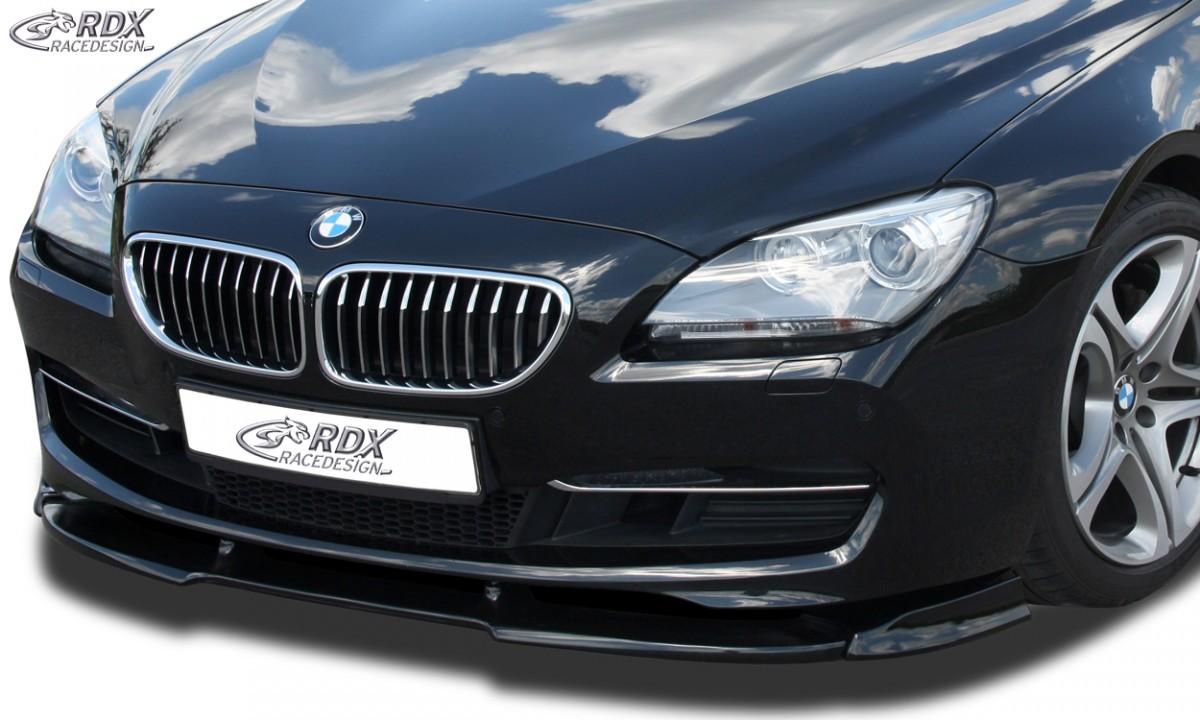 RDX Frontspoiler VARIO-X BMW 6er F12 / F13 (2011+) Frontlippe Front Ansatz Vorne Spoilerlippe
