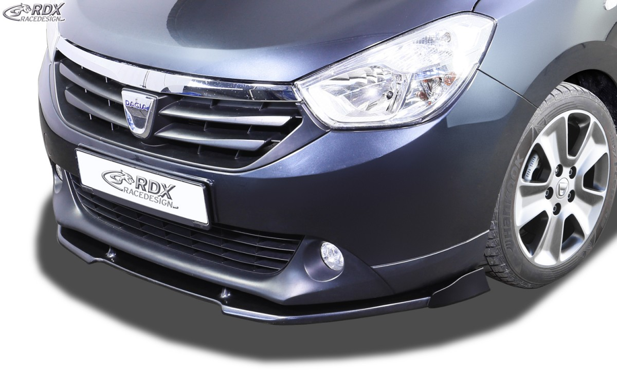 RDX Frontspoiler VARIO-X für DACIA Lodgy Frontlippe Front Ansatz Vorne Spoilerlippe