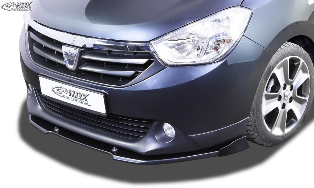 RDX Frontspoiler VARIO-X DACIA Lodgy Frontlippe Front Ansatz Vorne Spoilerlippe