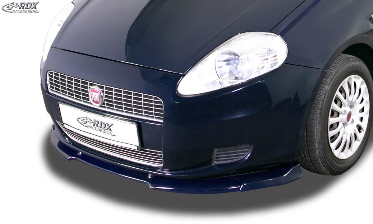 RDX Frontspoiler VARIO-X FIAT Grande Punto Frontlippe Front Ansatz Vorne Spoilerlippe