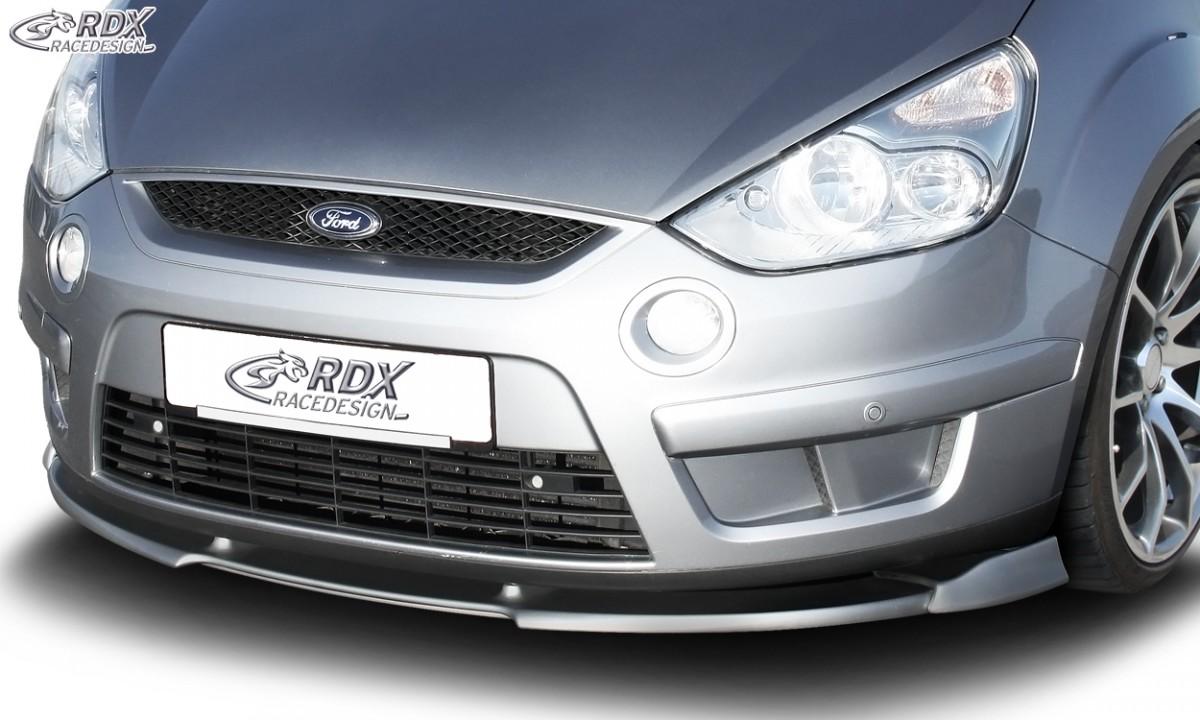 RDX Frontspoiler VARIO-X FORD S-Max (Typ WA6) Frontlippe Front Ansatz Vorne Spoilerlippe