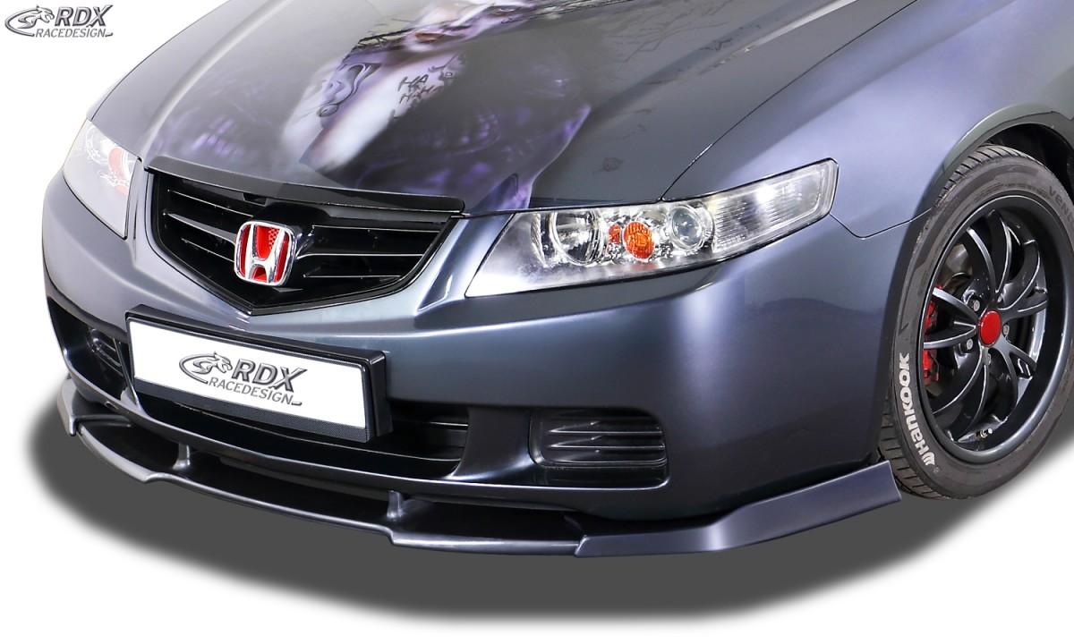 RDX Frontspoiler VARIO-X HONDA Accord 7 2002-2006 Limousine & Tourer Frontlippe Front Ansatz Vorne Spoilerlippe