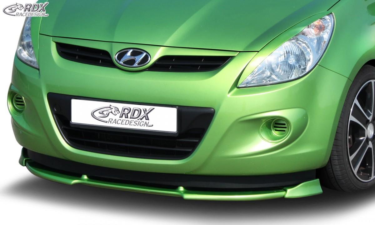 RDX Frontspoiler VARIO-X HYUNDAI i20 PB / PBT (2008-2012) Frontlippe Front Ansatz Vorne Spoilerlippe