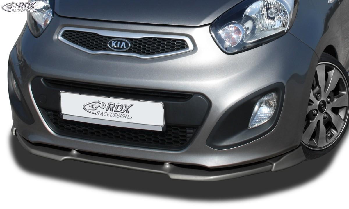 RDX Frontspoiler VARIO-X für KIA Picanto Typ TA Frontlippe Front Ansatz Vorne Spoilerlippe