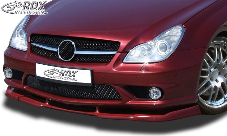 RDX Frontspoiler VARIO-X MERCEDES CLS-Klasse C219 AMG (Passend an AMG bzw. Fahrzeuge mit AMG Frontstoßstange) Frontlippe Front Ansatz Vorne Spoilerlippe