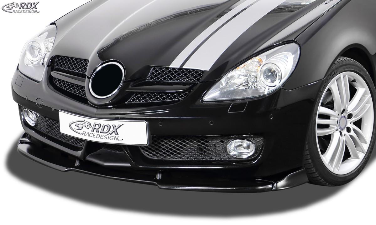 RDX Frontspoiler VARIO-X MERCEDES SLK R171 2008+ Frontlippe Front Ansatz Vorne Spoilerlippe
