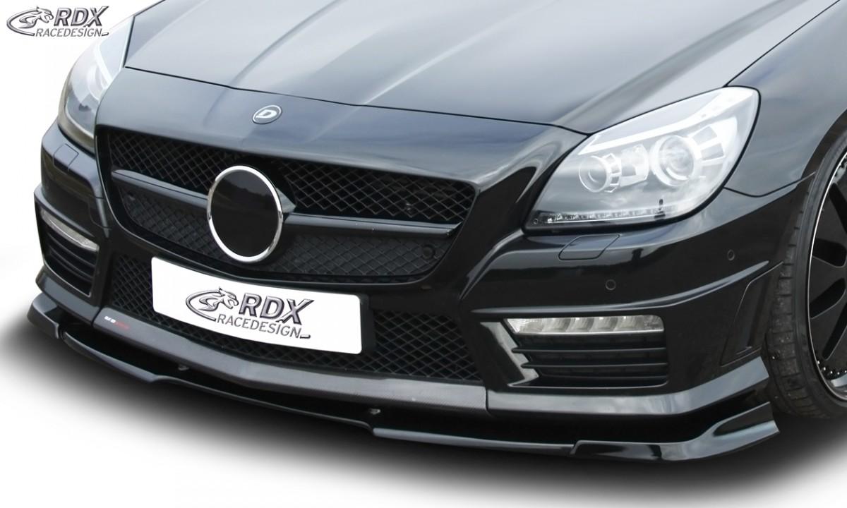 RDX Frontspoiler VARIO-X MERCEDES SLK 55 AMG R172 AMG (Passend an AMG bzw. Fahrzeuge mit AMG Frontstoßstange) Frontlippe Front Ansatz Vorne Spoilerlippe