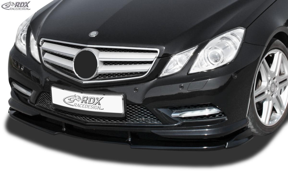 RDX Frontspoiler VARIO-X MERCEDES E-Klasse Cabrio A207 / Coupe C207 AMG-Styling -2013 (Passend an Fahrzeuge mit AMG-Stylingpaket Frontstoßstange) Frontlippe Front Ansatz Vorne Spoilerlippe
