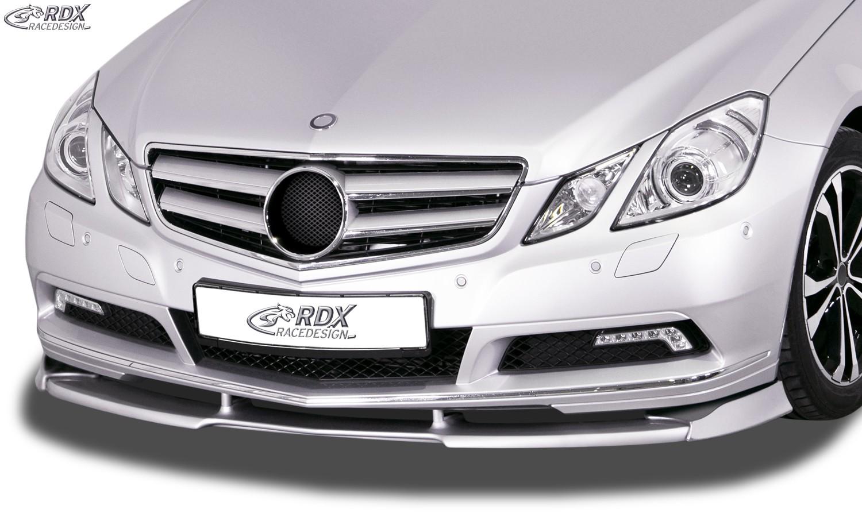 RDX Frontspoiler VARIO-X MERCEDES E-Klasse Cabrio A207 / Coupe C207 -2013 Frontlippe Front Ansatz Vorne Spoilerlippe