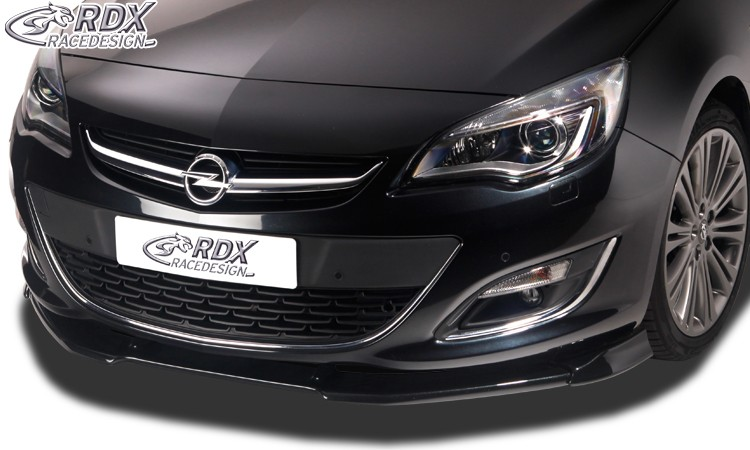 RDX Frontspoiler VARIO-X OPEL Astra J Facelift 2012+ Frontlippe Front Ansatz Vorne Spoilerlippe