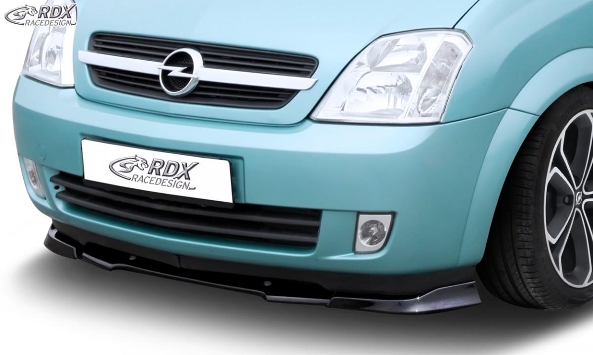 RDX Frontspoiler VARIO-X OPEL Meriva A 2003-2006 Frontlippe Front Ansatz Vorne Spoilerlippe