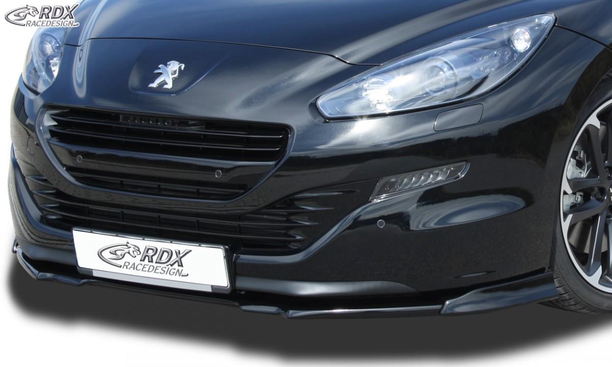 RDX Frontspoiler VARIO-X für PEUGEOT RCZ Phase 2 2013+ Frontlippe Front Ansatz Vorne Spoilerlippe