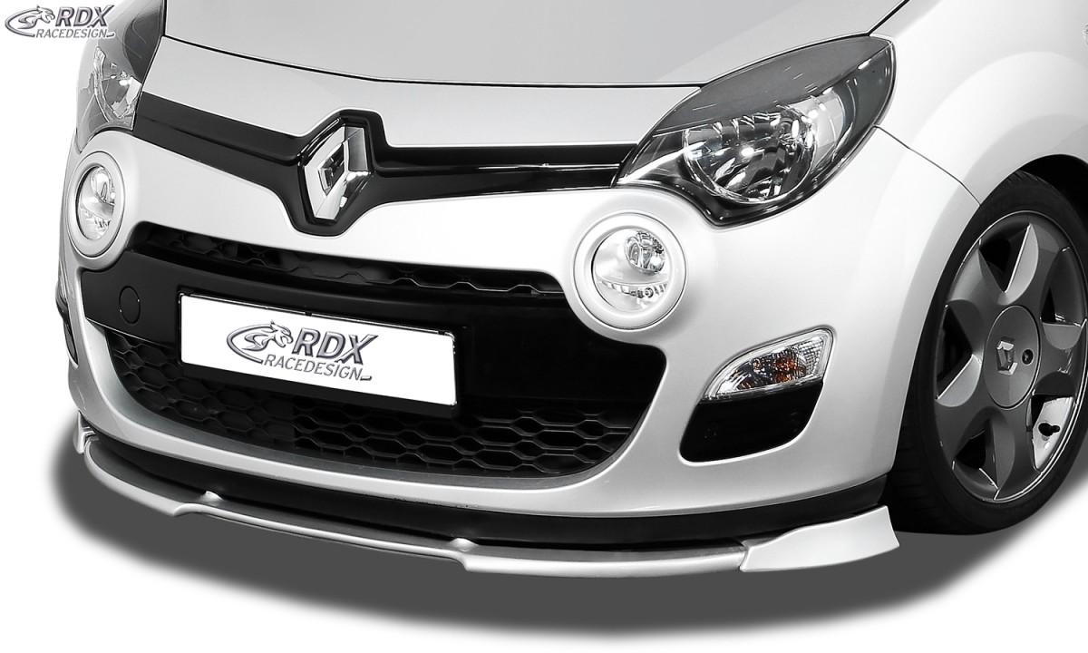 RDX Frontspoiler VARIO-X RENAULT Twingo 2 Phase 2 2012-2014 Frontlippe Front Ansatz Vorne Spoilerlippe