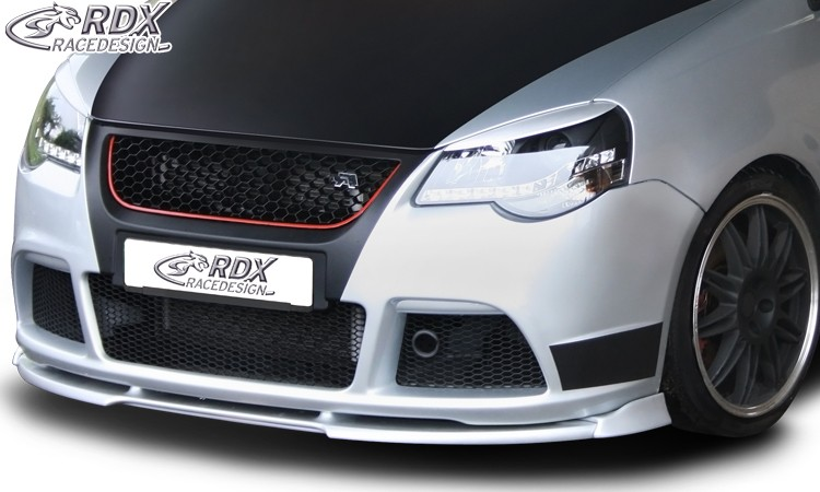 RDX Frontspoiler VARIO-X VW Polo 9N3 2005+ GTI Cup Edition Frontlippe Front Ansatz Vorne Spoilerlippe