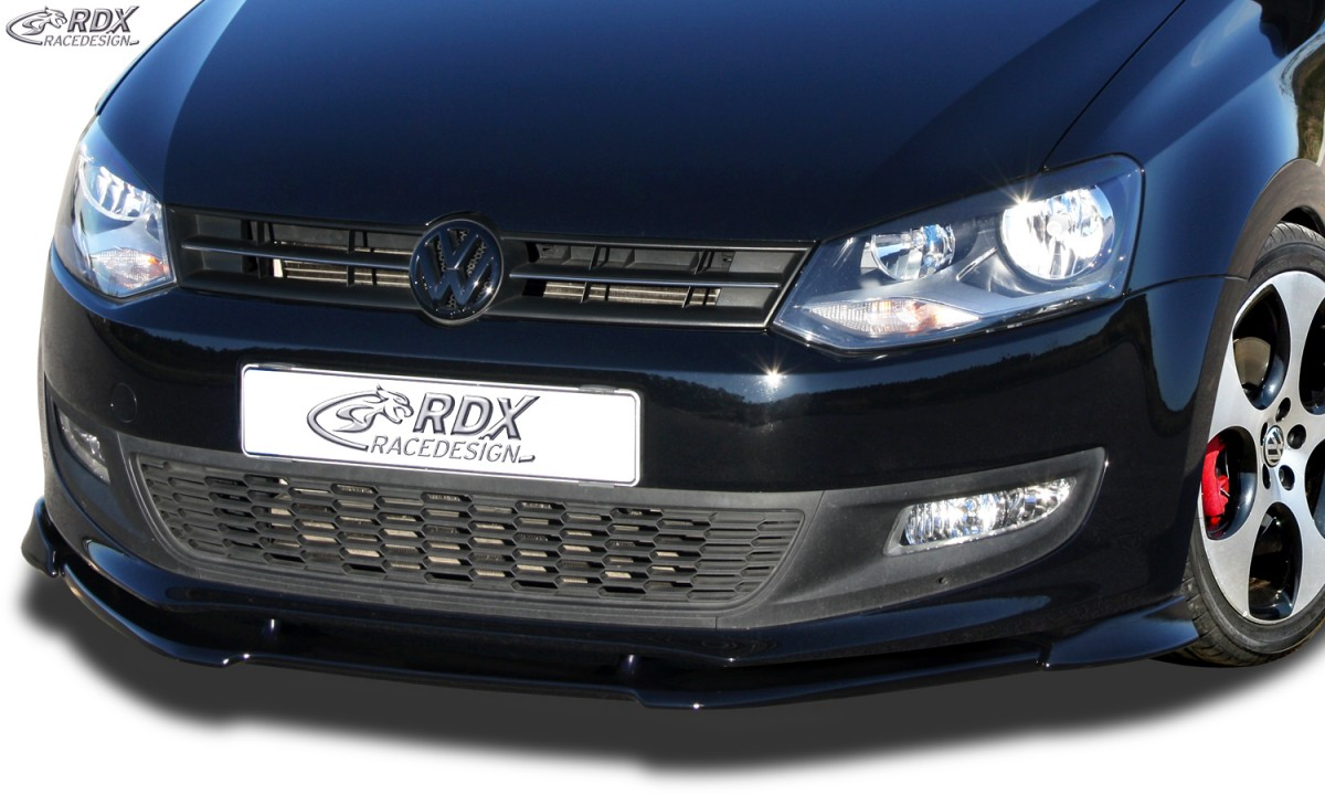 RDX Frontspoiler VARIO-X VW Polo 6R Frontlippe Front Ansatz Vorne Spoilerlippe