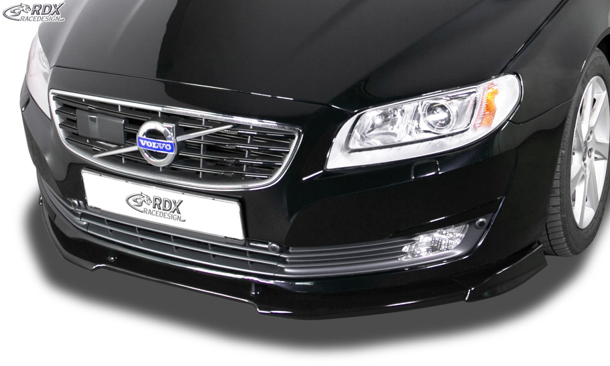 RDX Frontspoiler VARIO-X VOLVO S80 2013-2016 / V70 2013-2016 Frontlippe Front Ansatz Vorne Spoilerlippe