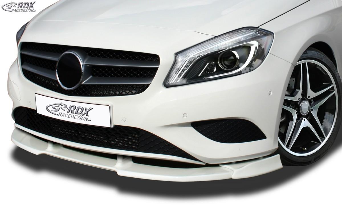 RDX Frontspoiler VARIO-X MERCEDES A-Klasse W176 (2012-2015) Frontlippe Front Ansatz Vorne Spoilerlippe