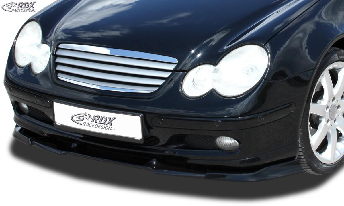 RDX Frontspoiler VARIO-X MERCEDES CLC-Klasse CL203 (-2004) Frontlippe Front Ansatz Vorne Spoilerlippe