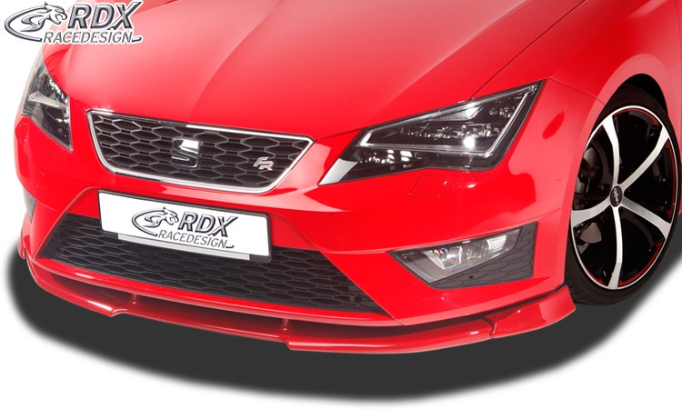 RDX Frontspoiler VARIO-X SEAT Leon 5F FR + Cupra -2017 (auch SC und ST) Frontlippe Front Ansatz Vorne Spoilerlippe