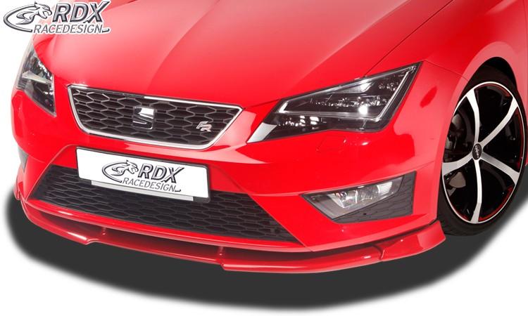 RDX Frontspoiler VARIO-X SEAT Leon 5F FR + Cupra / Leon 5F SC FR + Cupra / Leon 5F ST FR Frontlippe Front Ansatz Vorne Spoilerlippe