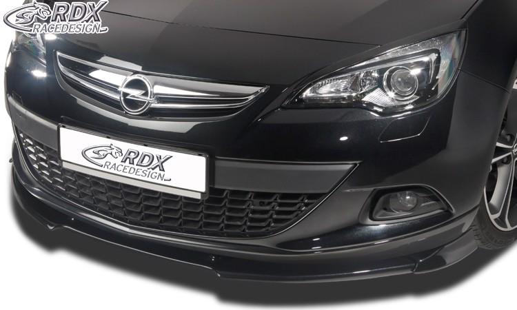 RDX Frontspoiler VARIO-X OPEL Astra J GTC (nur für OPC-Line Frontlippe!) Frontlippe Front Ansatz Vorne Spoilerlippe