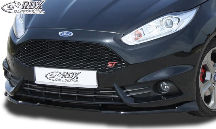 RDX Frontspoiler VARIO-X für FORD Fiesta ST MK7 JA8 JR8 (2013+) Frontlippe Front Ansatz Vorne Spoilerlippe